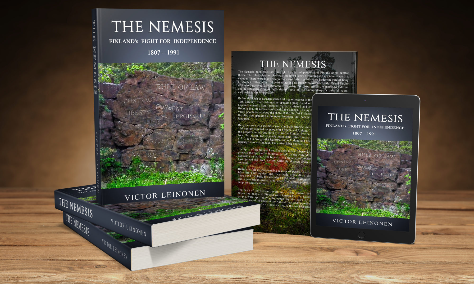 New Book: The Nemesis Release 2018 | Kilpis Lake Adventures